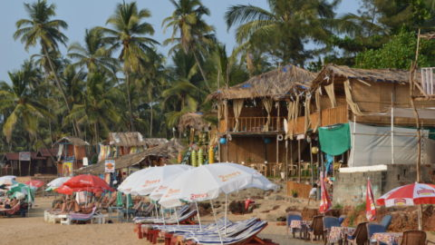 Goa travel diaries – Anjuna & Vagator