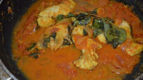 Fish Puli Mulaku – A Kerala fish preparation