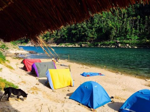 Dawki – Camping at the picturesque Indo-Bangladesh Border