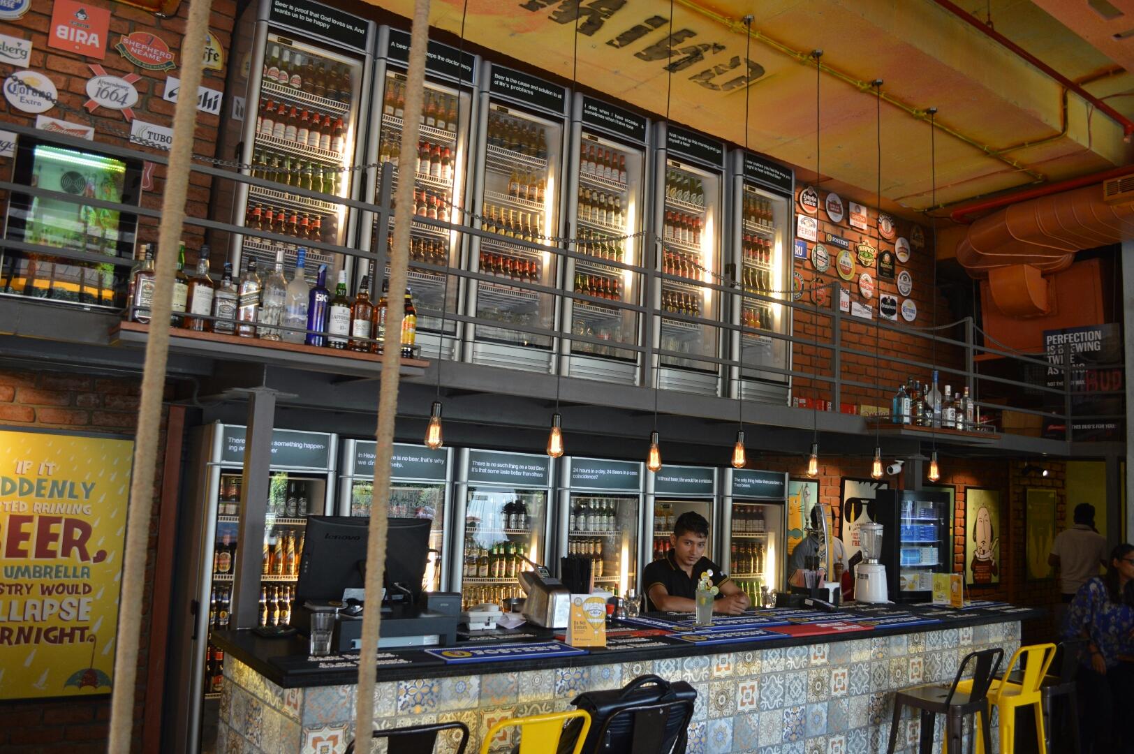Beer Cafe Vr Mall Menu