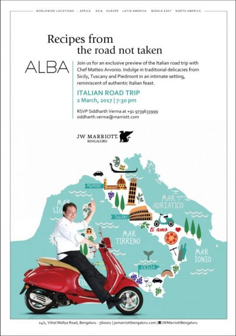 'Italian Road Trip' by Chef Matteo