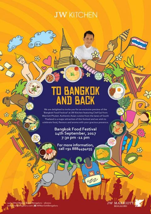 Bangkok food festival at JW Marriott