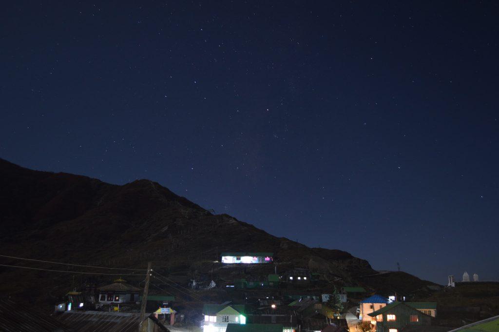 Night-sky at Gnanthang valley